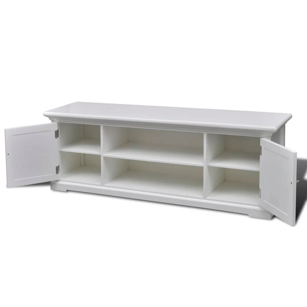 Sorrento Entertainment Cabinet (White) - Free Shipping - Darkhorse Creations