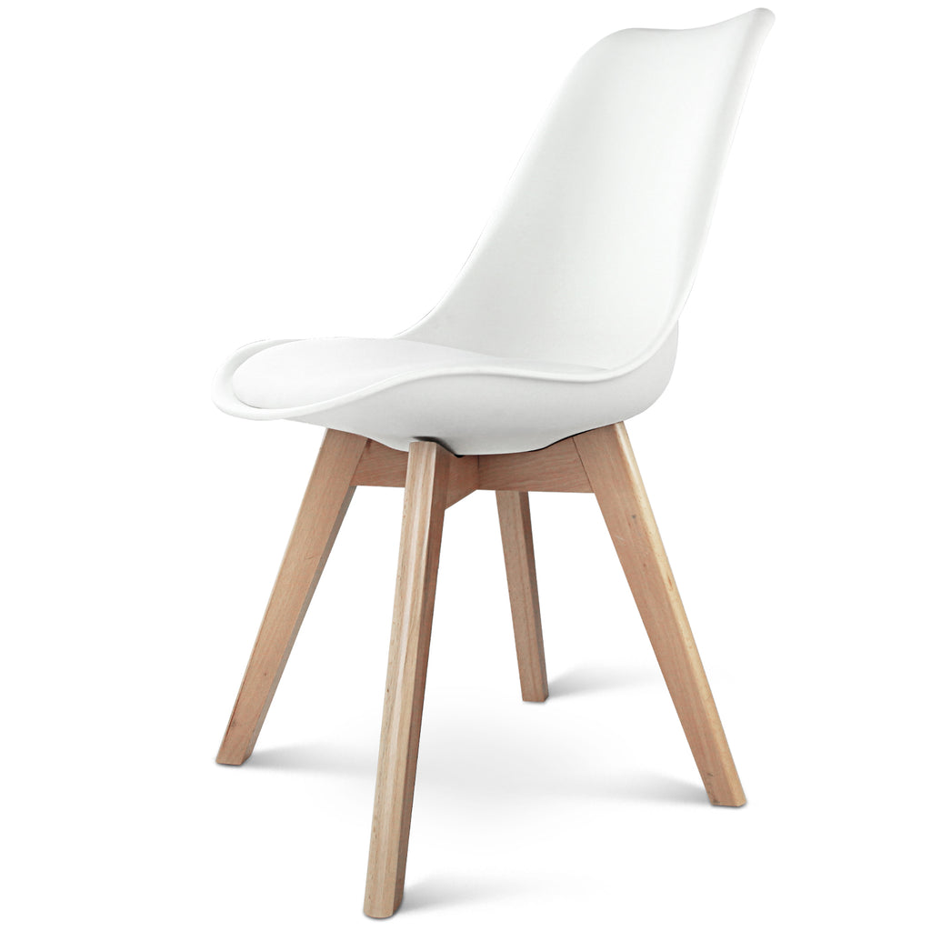 Set of 2 Inspire Dining Chair (White) - Free Shipping - Darkhorse Creations