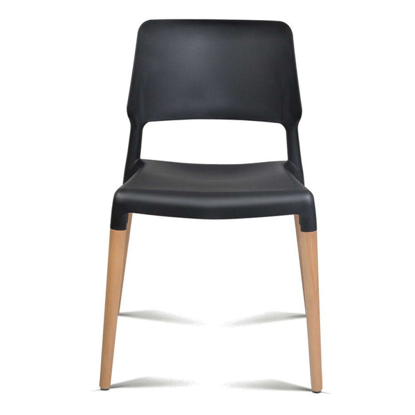 Set of 4 Replica Dining Chair (Black) - Free Shipping - Darkhorse Creations