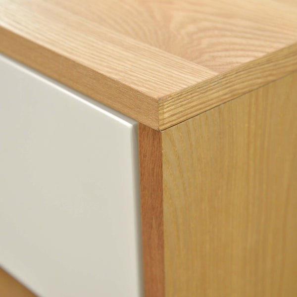 CBD007-DW Wooden Bedside Table