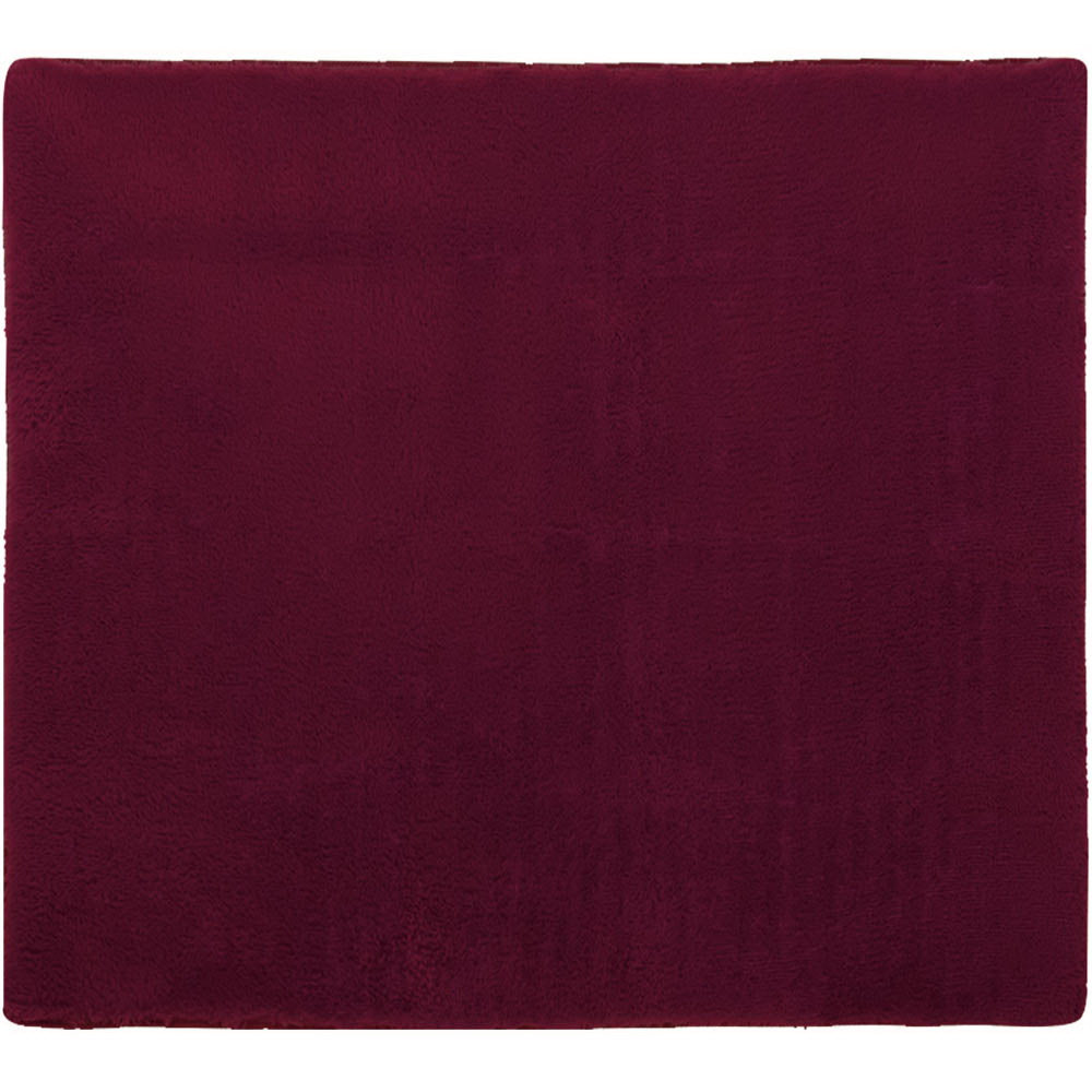 Ultra Soft Shaggy Rug Large 200x230cm Floor Carpet AntiUnbrandedslip Area Rugs Burgundy
