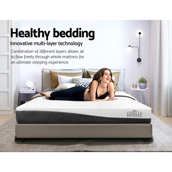 Queen  Memory Foam Mattress Cool Gel without Spring