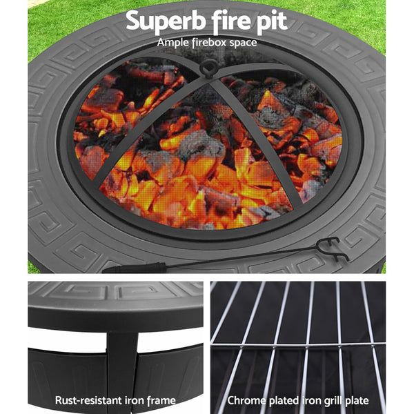 Pittsburgh Outdoor Fire Pit Round