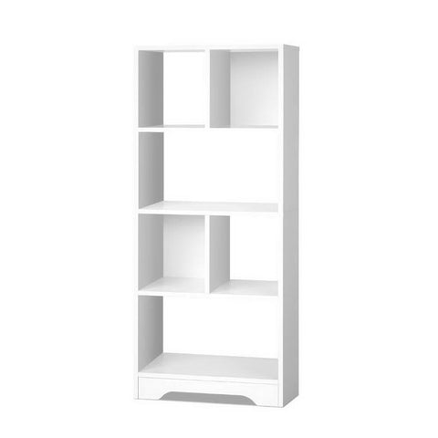 Display Shelf Bookcase Storage Cabinet Bookshelf Bookcase Home Office White