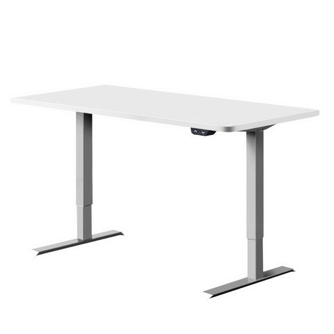 Standing Desk Motorised Height Adjustable Sit Stand Computer Table Office 120cm
