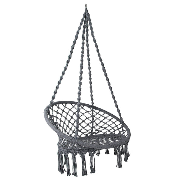 Lilli Hammock Chair (Grey) - Free Shipping - Darkhorse Creations