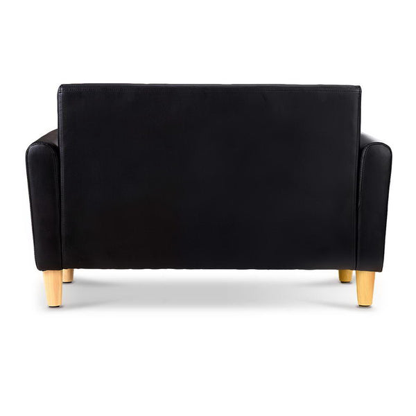 Roxy Kids Toy Chest Couch (Black) - Free Shipping - Darkhorse Creations