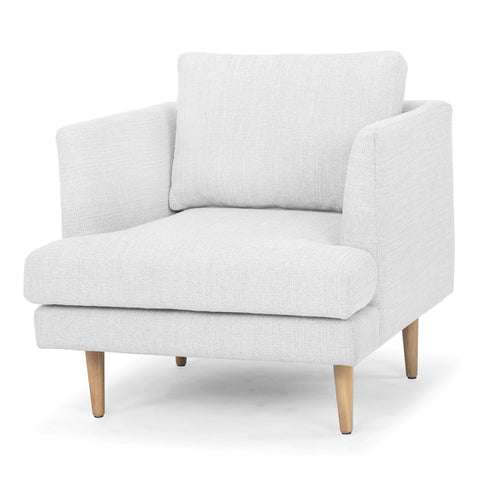 Indiana Armchair (Whisper Grey / Oak) - Free Shipping - Darkhorse Creations