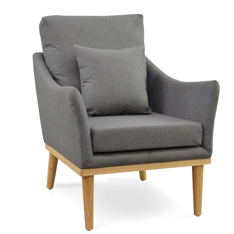 Portland Accent Chair (Grey / Ash) - Free Shipping - Darkhorse Creations