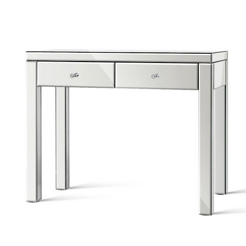 Mirrored Furniture Dressing Console  Hall Table Sidebaord Drawers