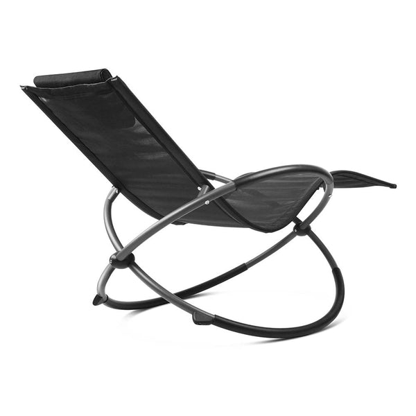 Gravity Sun Lounger (Black) - Free Shipping - Darkhorse Creations