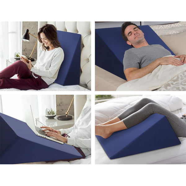 3in1 Multiple Use Bed Wedge Blue