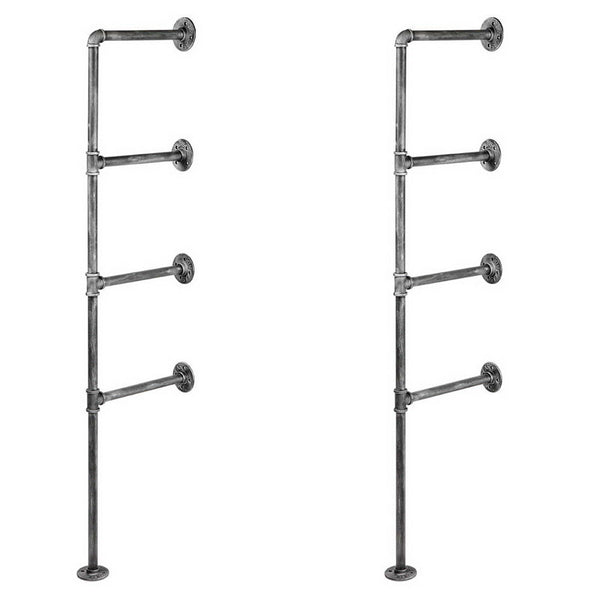 DIY Industrial Pipe Shelving Frame (4 level) - FREE SHIPPING AUSTRALIA WIDE - Darkhorse Creations