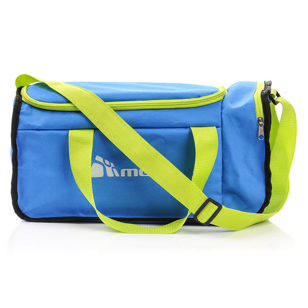 20L Foldable Gym Bag Blue and Green