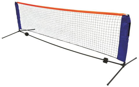 6 Meters Portable Foldable Mini Tennis Net and Post Set