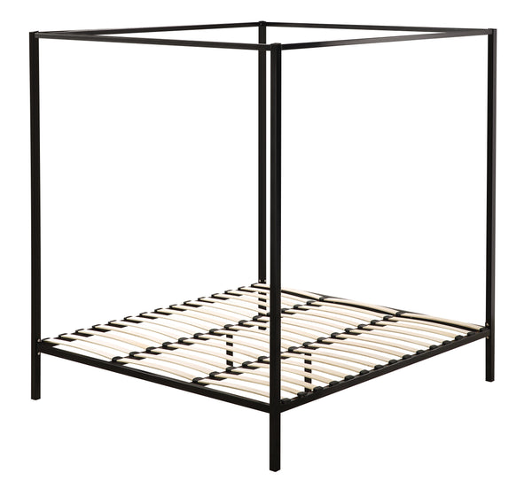 Parkland Four Poster Bed Frame King Black