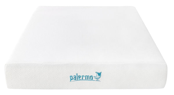 Palermo Double 25cm Gel Memory Foam Mattress  DualLayered  CertiPURUS Certified