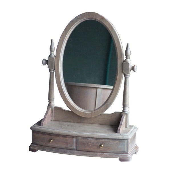 Lou Lou Dresser with Mirror Wash White