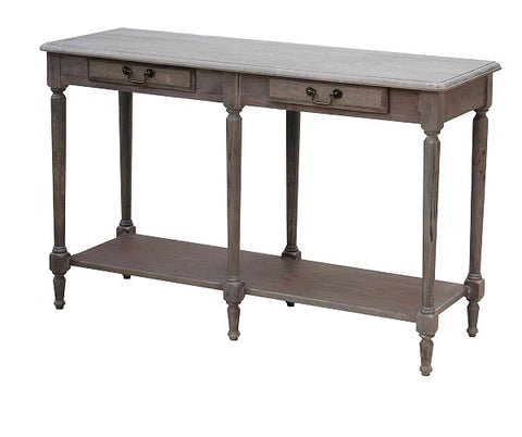 Lou Lou Hall Table White Washed