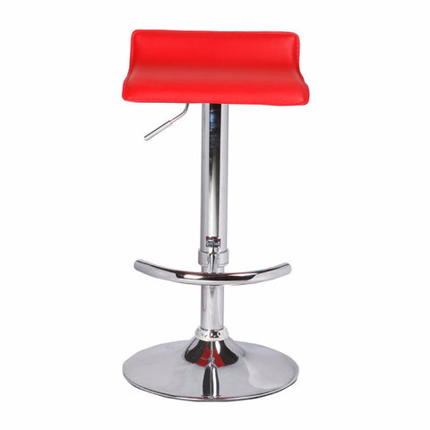 2 X Chess Bar Stools Red
