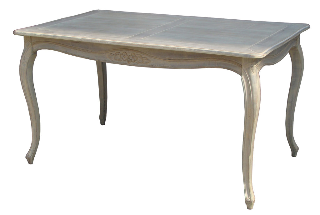 Louise Dinning Table White Wash