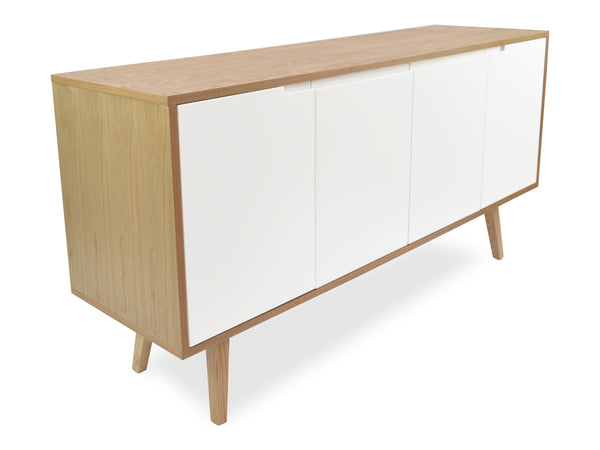 Noah Timber and Copper Sideboard Natural