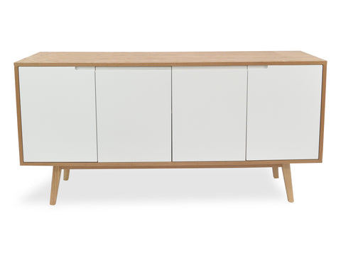 Wyatt Sideboard (Ash / White) - Free Shipping - Darkhorse Creations