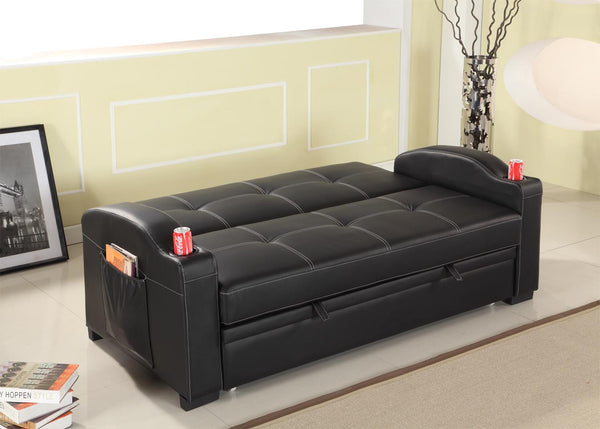 Maple Sofa Black
