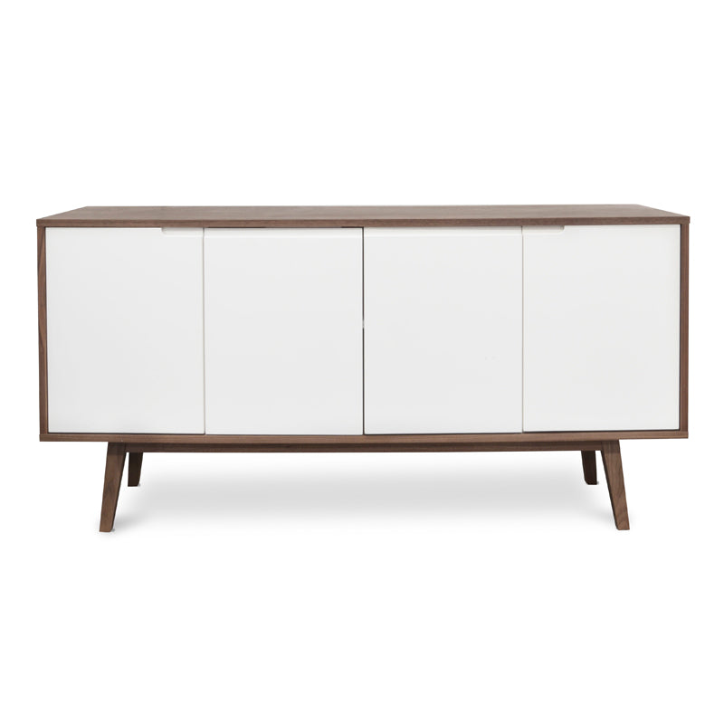 Wyatt Sideboard Walnut and White