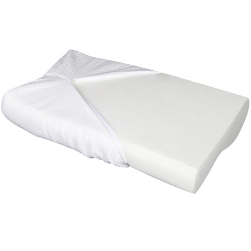 2 x Cool Gel Top Memory Foam Contour Pillow