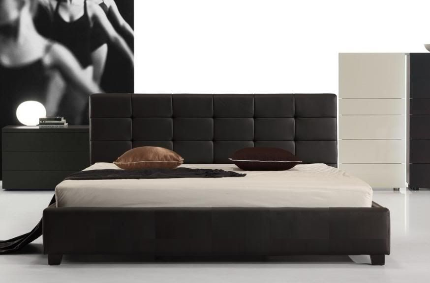 Connor Bed Frame Queen Black