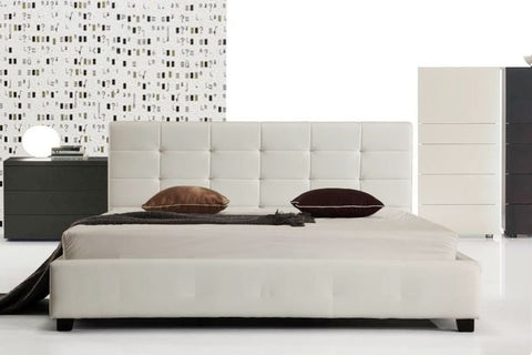 Connor Bed Frame King White