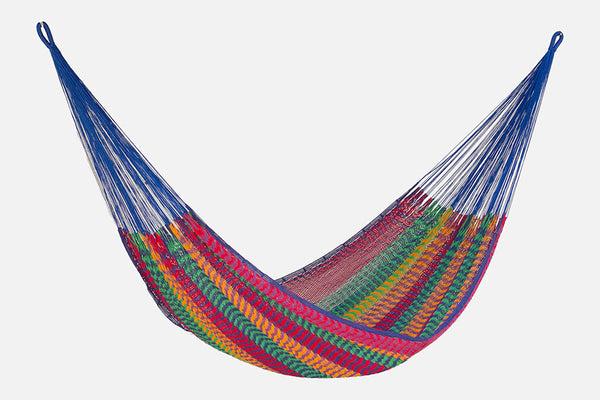 King Size Outdoor Cotton Hammock in Mexicana