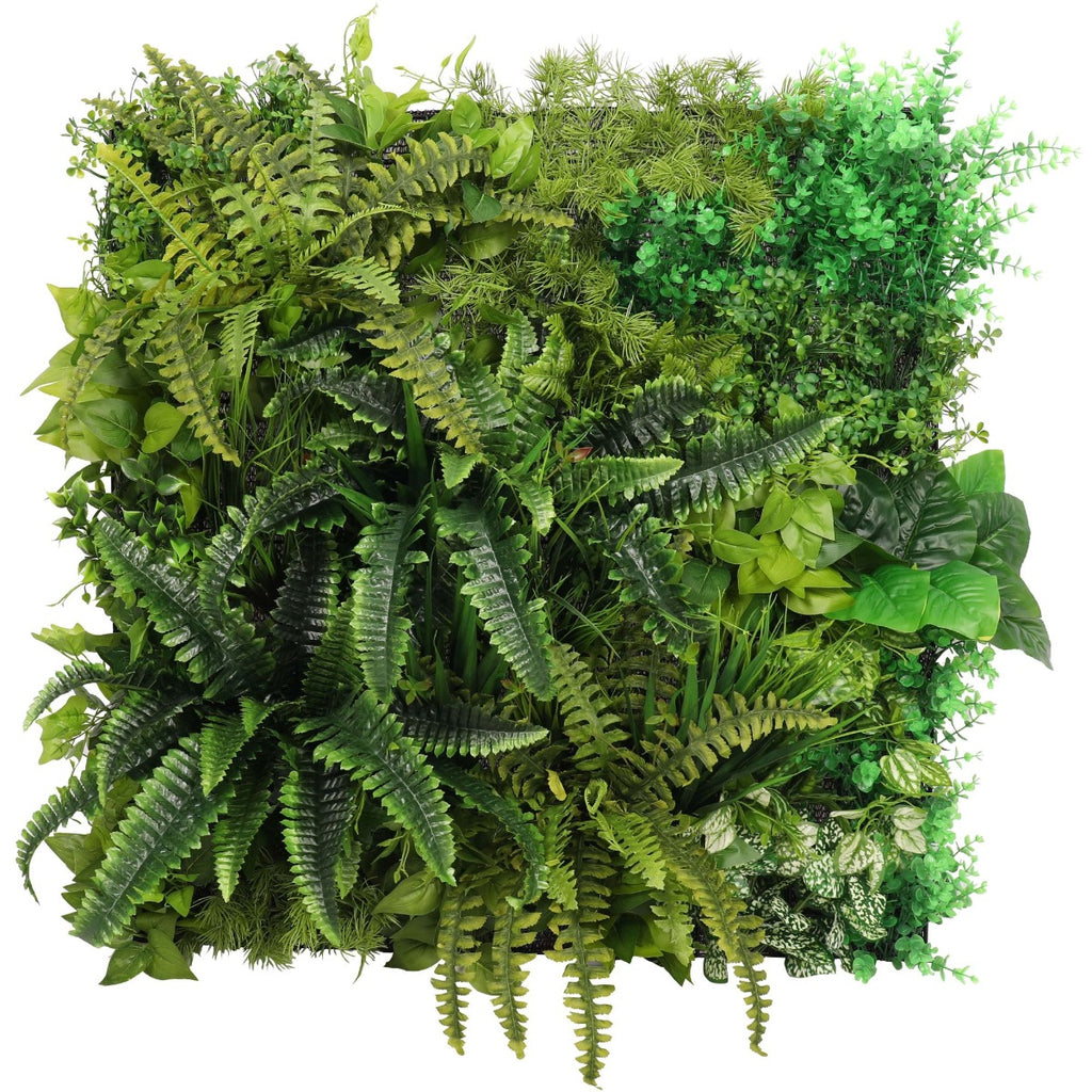 Evergreen Bespoke Vertical Garden / Green Wall 90cm x 90cm (INDOOR ONLY)