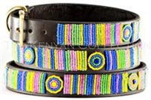 Meadow Beaded Dog Collar