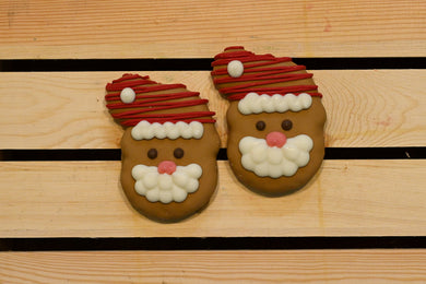 Christmas Santa (pack of two)