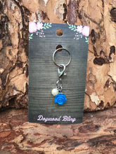 Flower blue with pearl - Dogwoodbling horse dog treat