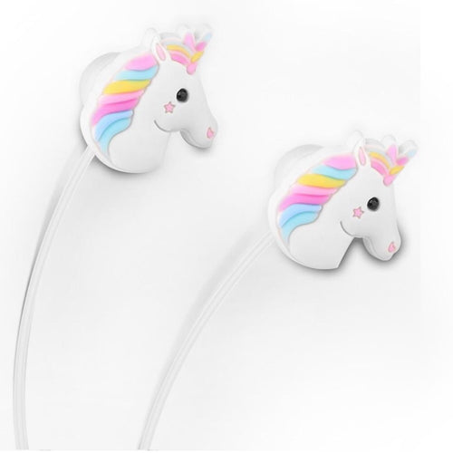 Unicorn Rainbow Earphones
