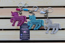 Unicorn sparkle keychain