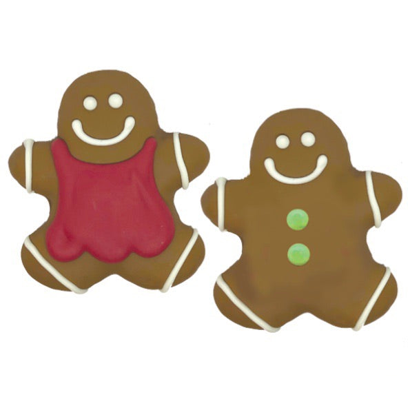 Gingerbread people - Dogwoodbling horse dog treat