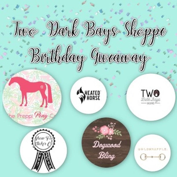 Two dark bays giveaway