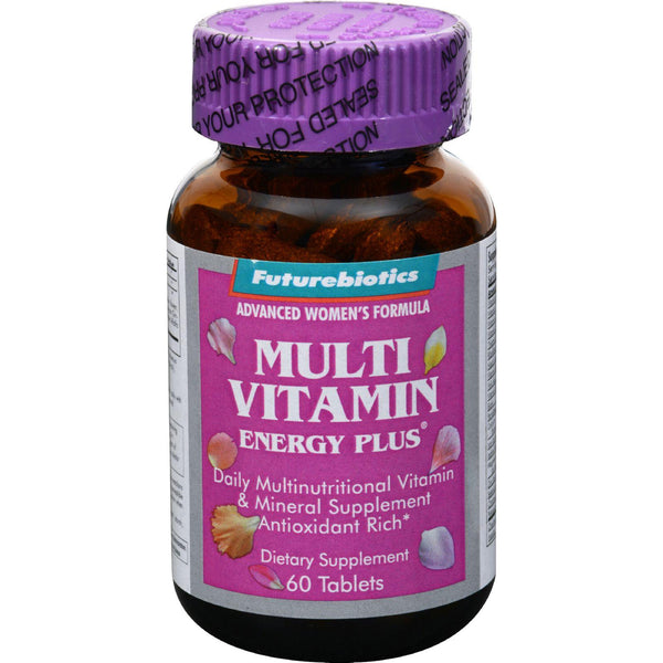 Futurebiotics Multi Vitamin Energy Plus For Women - 60 Tablets