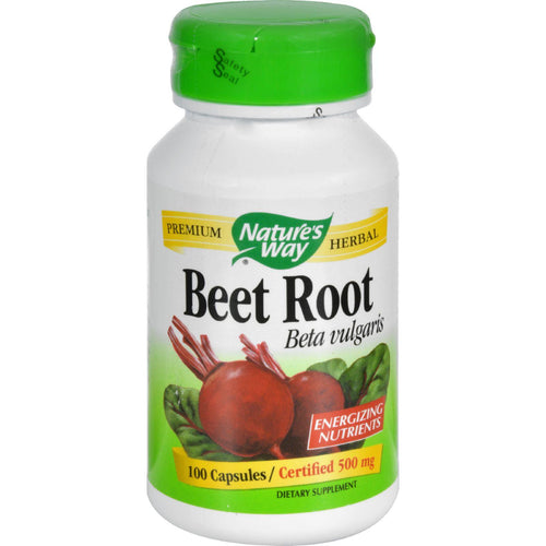 Nature's Way Beet Root Beta Vulgaris - 100 Capsules