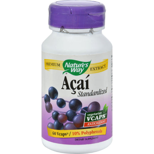 Nature's Way Acai - 60 Vegetarian Capsules