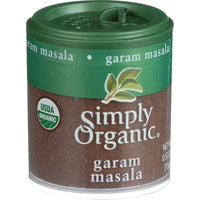Simply Organic Garam Masala - Organic - .53 Oz - Case Of 6