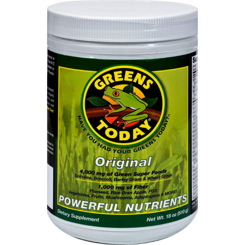 Greens Today Original Formula - 1500 Mg - 18 Oz