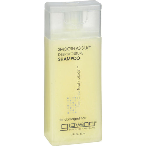 Giovanni Smooth As Silk Deep Moisture Shampoo - 2 Fl Oz - Case Of 12