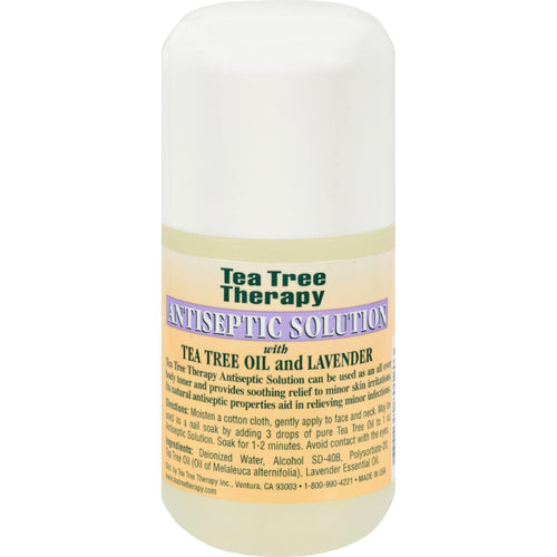Tea Tree Therapy Antiseptic Solution Tea Tree Oil And Lavender - 4 Fl Oz