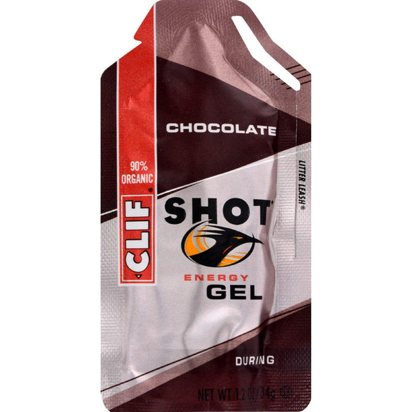 Clif Bar Clif Shot - Chocolate - Case Of 24 - 1.2 Oz