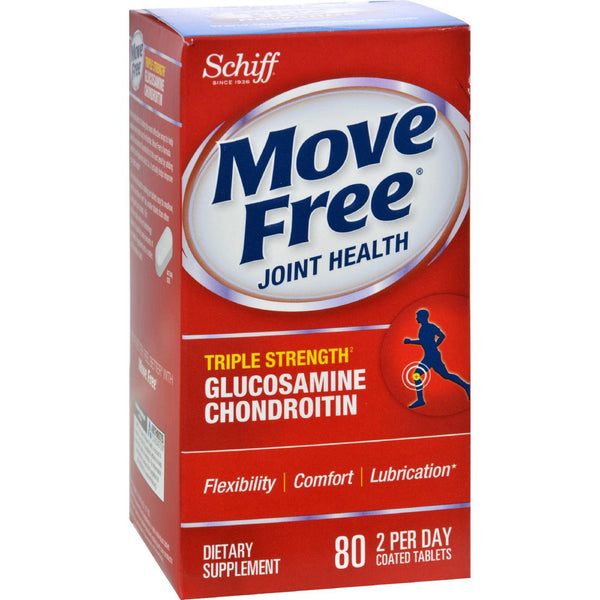 Schiff Move Free Advanced Triple Strength - 80 Coated Tablets
